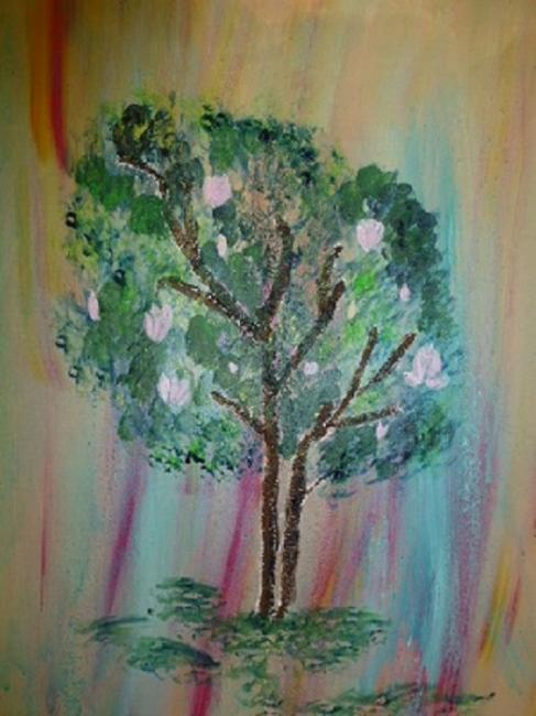 Artiste : MichAile  /  Titre : L'arbre de Jean