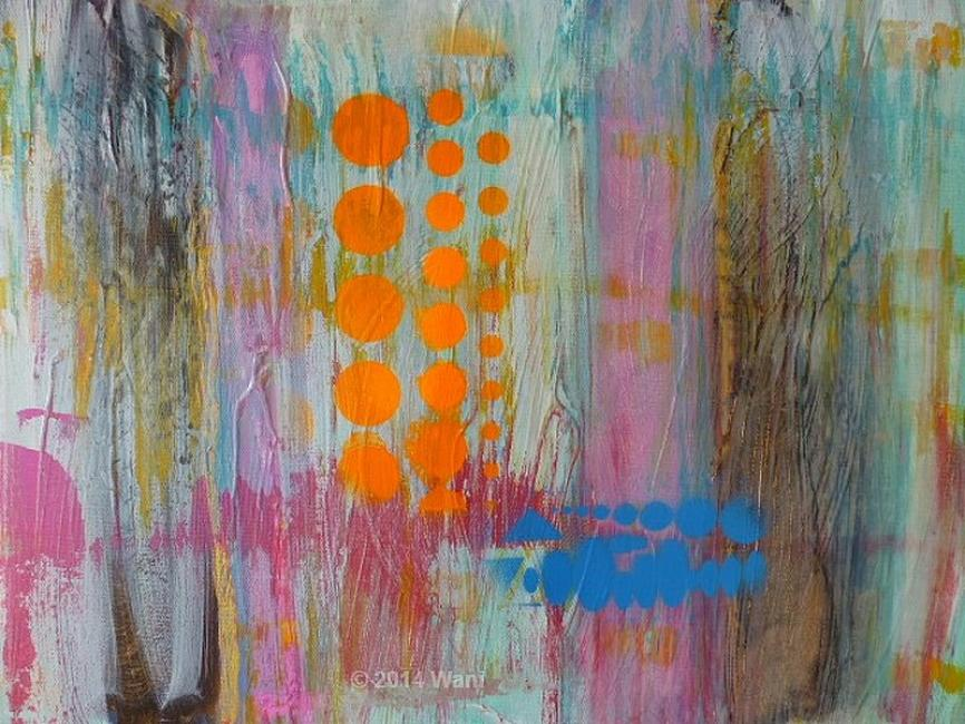 Artiste : MichAile  /  Titre : Spots orange