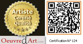 exemple de logo de certification artiste