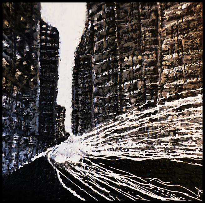 Artiste : LAM  /  Titre : Le chant des styrènes No8