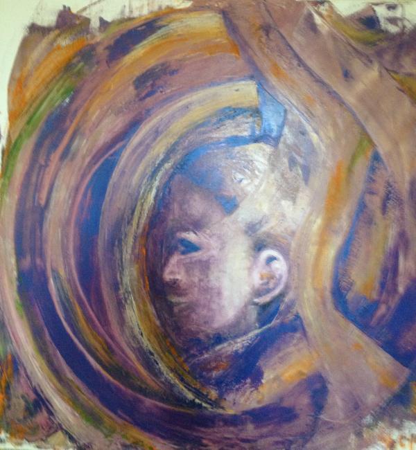 Artiste : LLORET Jocelyne  /  Titre : Le médaillon