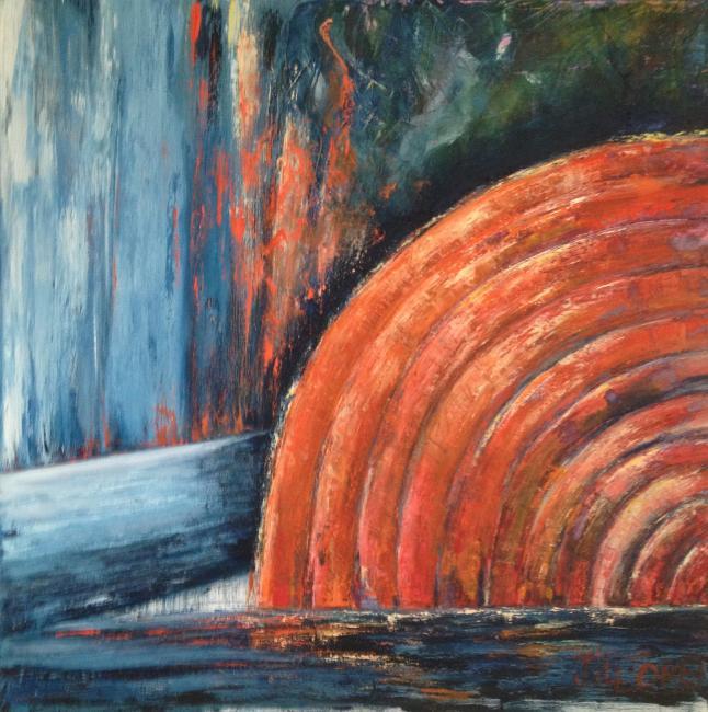 Artiste : LLORET Jocelyne  /  Titre : Le phare