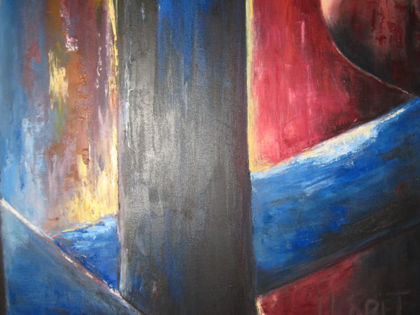 Artiste : LLORET Jocelyne  /  Titre : Evasion