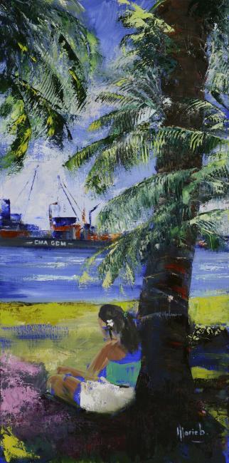 Artiste : MARIEB  /  Titre : Douceur de vivre à Papeete