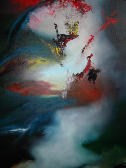 Artiste : RIBAUD Joedane  /  Titre : La gardienne des nuages