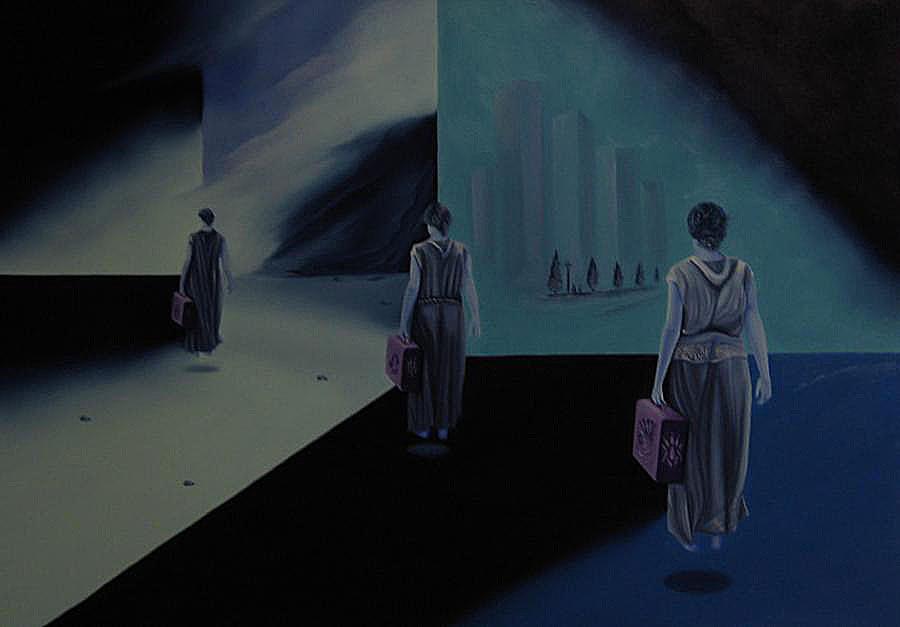 Artiste : VANDERHAEGEN Serge  /  Titre : LE VOYAGE