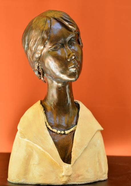 Artiste : WAECHTER Charles   /  Titre : Hommage à Modigliani n°2